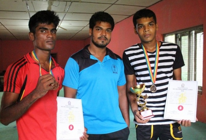 Vavuniya Vipulanantha wins two Medals in the National Schools Boxing Championships