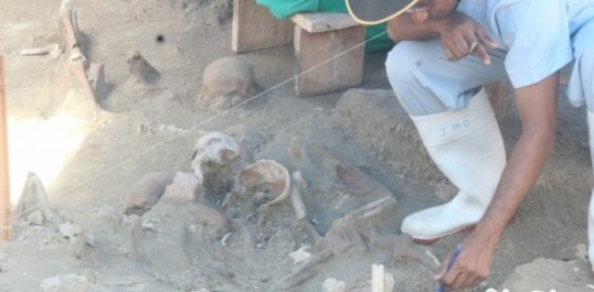Excavation area at Mannar Mass Grave extended. Skeletons identified in the extended area, says JMO