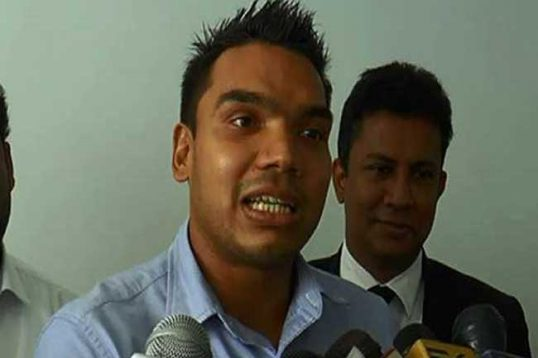 TNA is a partner of the Government, says Namal Rajapakse in Jaffna
