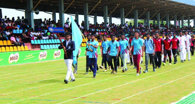 Mannar Zone wins Championship in the Schools Track and Field meet
