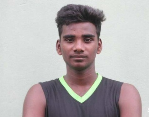 Kanthavanesan Kavilavan  in the National Team for Asian Basketball Championship in Bangladesh
