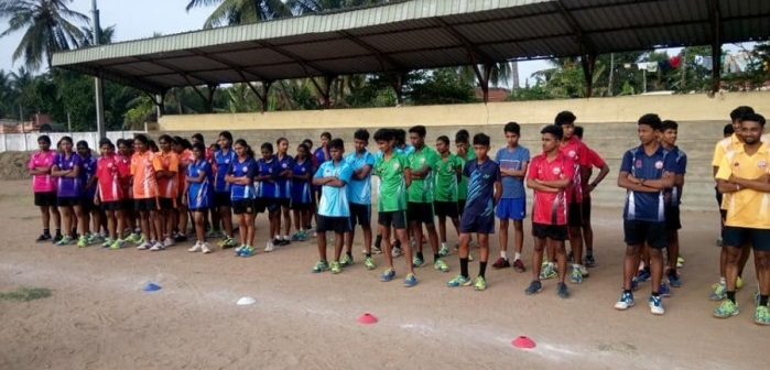A residential Training camp by The World Tamil Badminton Federation 2