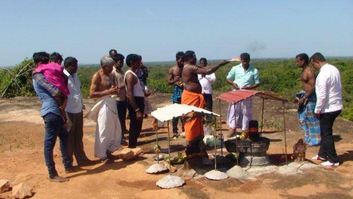 Hindus banned from worshiping at Vedukkunarimalai in Nedunkerny