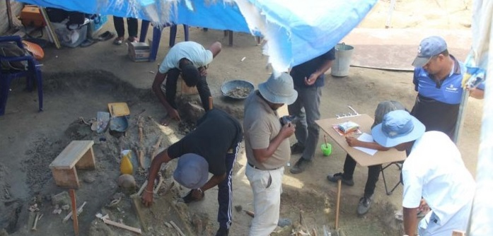 The Courts bans photographing and videoing of excavations at Mannar Mass grave