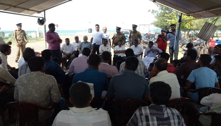 CM meets strugglers in Mulaitheevu and converse with them