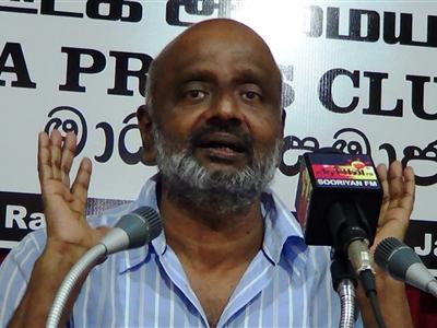 No justice will be delivered for killings in Sri Lanka, says Siththarththan in Kirushanthy commeration