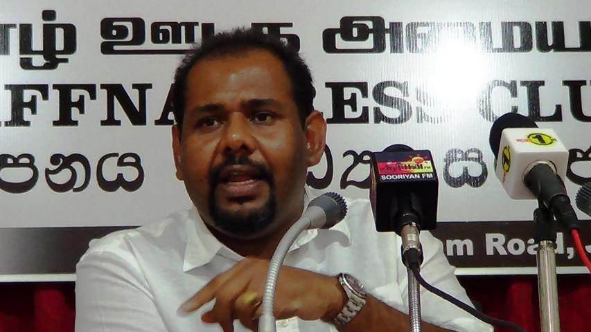 No Solution to TPPs till the TNA safeguards the Government, says Gajendrakumar