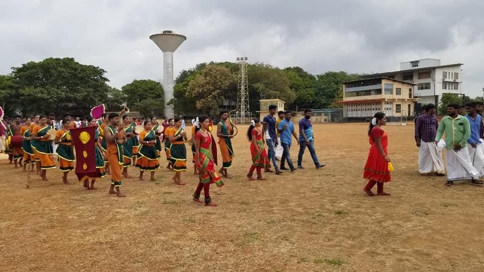 Pongu Thamizh memorial tower declared 14