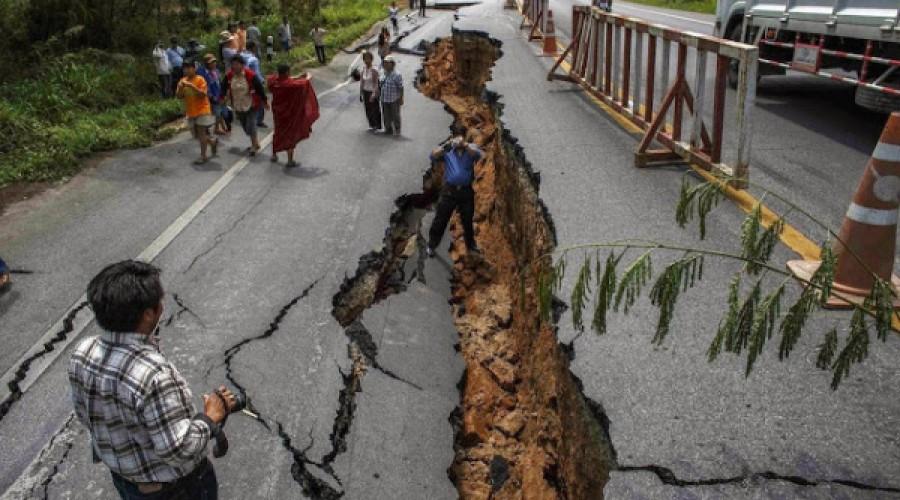 Earthquake in Trincomalee