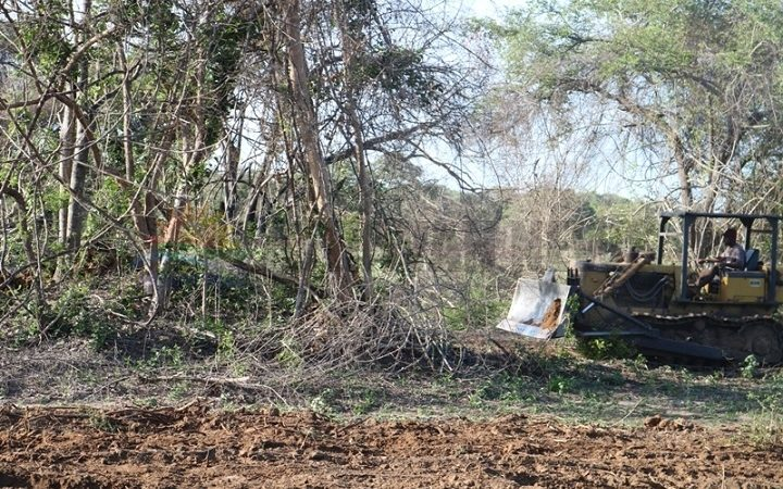 Breach of decision by CC Meeting on Deforestation and gravel excavation increase