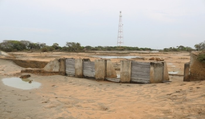 Indian Team inspects site for Pooneryn Tank 1