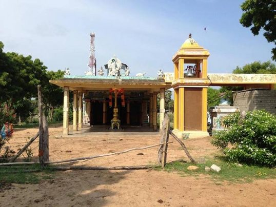 Attempt to grab the Kuchchaveli  Vinayagar Temple Land by Archaeological Department