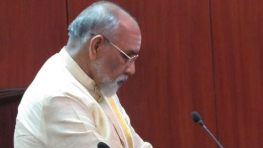 Burn my effigy a thousand times, but, don't burn policies of Tamil people, says Wigneswaran
