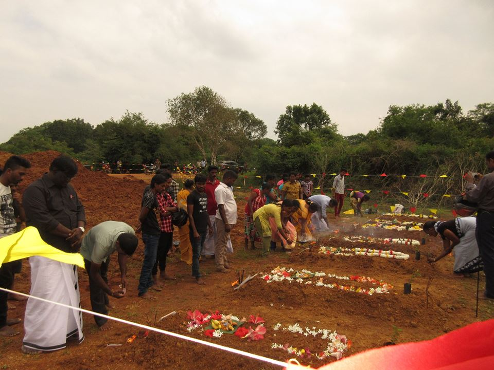 Homage paid to 8 students killed in the Claymore Attack by  SL LRRP unit at Aiyankankulam
