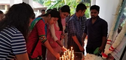 Homage paid to Students Union Leader, shot dead by Army