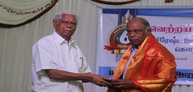 Jaffna Press Club honours Senior journalists 5