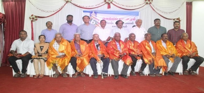 Jaffna Press Club honours  Senior journalists