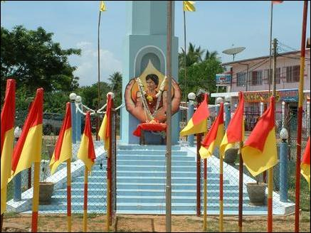 Is the fence around Thileepan Memorial legal?  Police seek advice from Attorney General