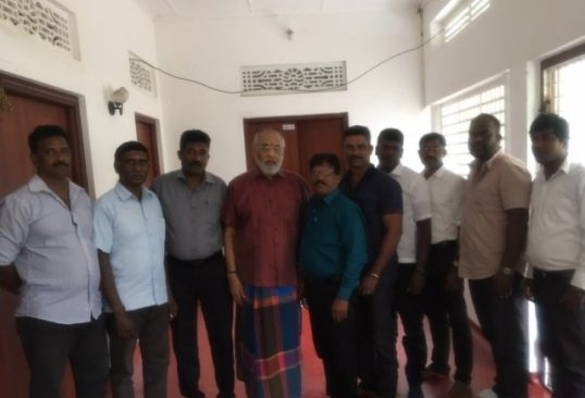 EROS organization in meeting with Wigneswaran relevant to contemporary political situation