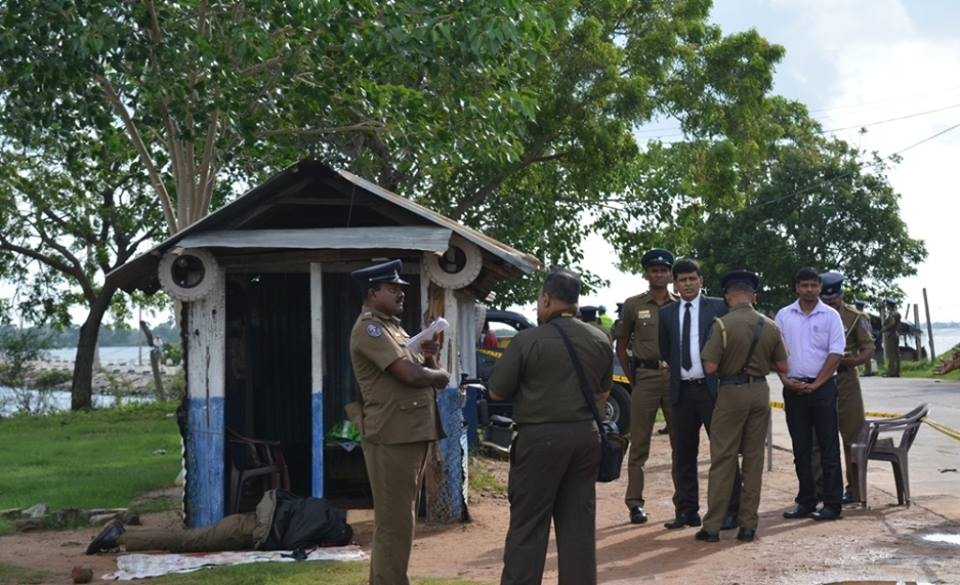 Two Police Officers shot dead in Vavunativu with their hands bound