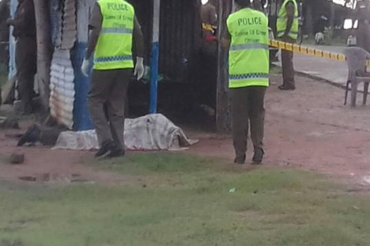 Policemen killed at Vavunativu – former militant surrenders to Kilinochchi police confessing responsibility
