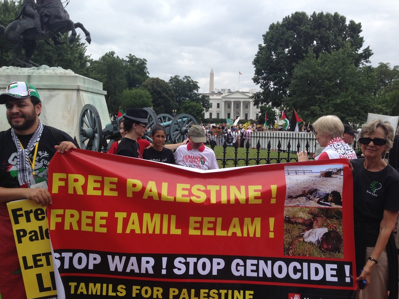 Legitimacy of Tamil Elam and justice for the genocide against Tamils, Palestine paradigm in the Indian Ocean