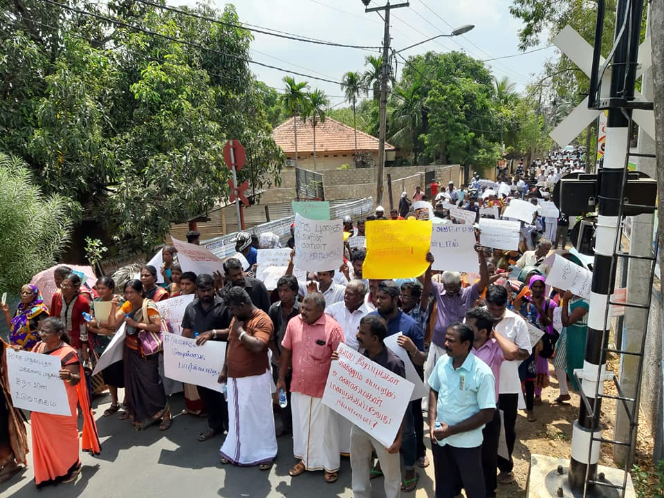 People hold rally in Jaffna 4