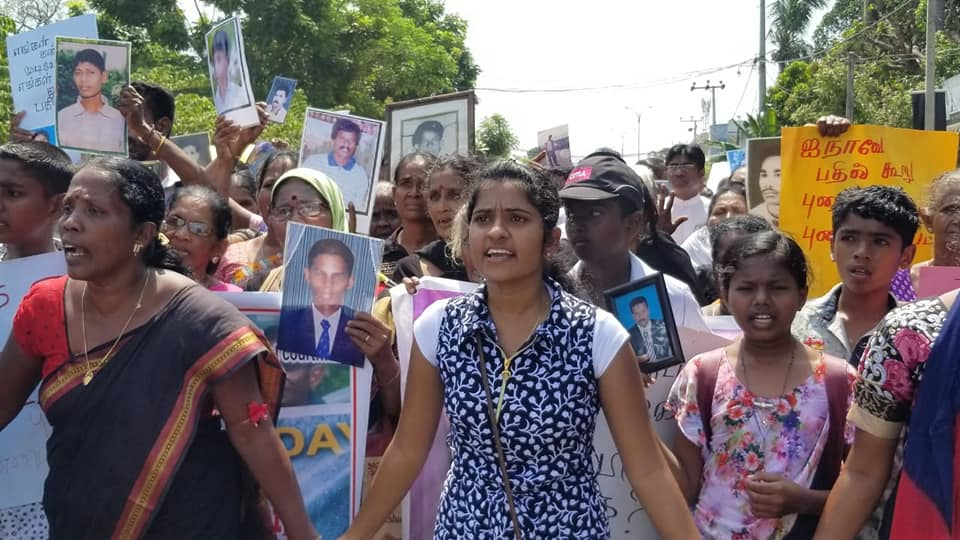 Invigorating Rally in the East demanding International Investigation