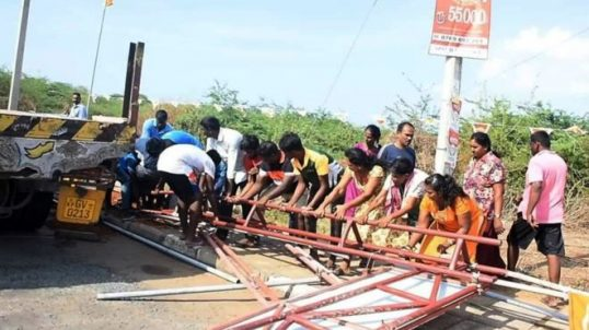 Demolition of Thiruketheeswaram Arch: 10 bailed out including a Catholic Priest