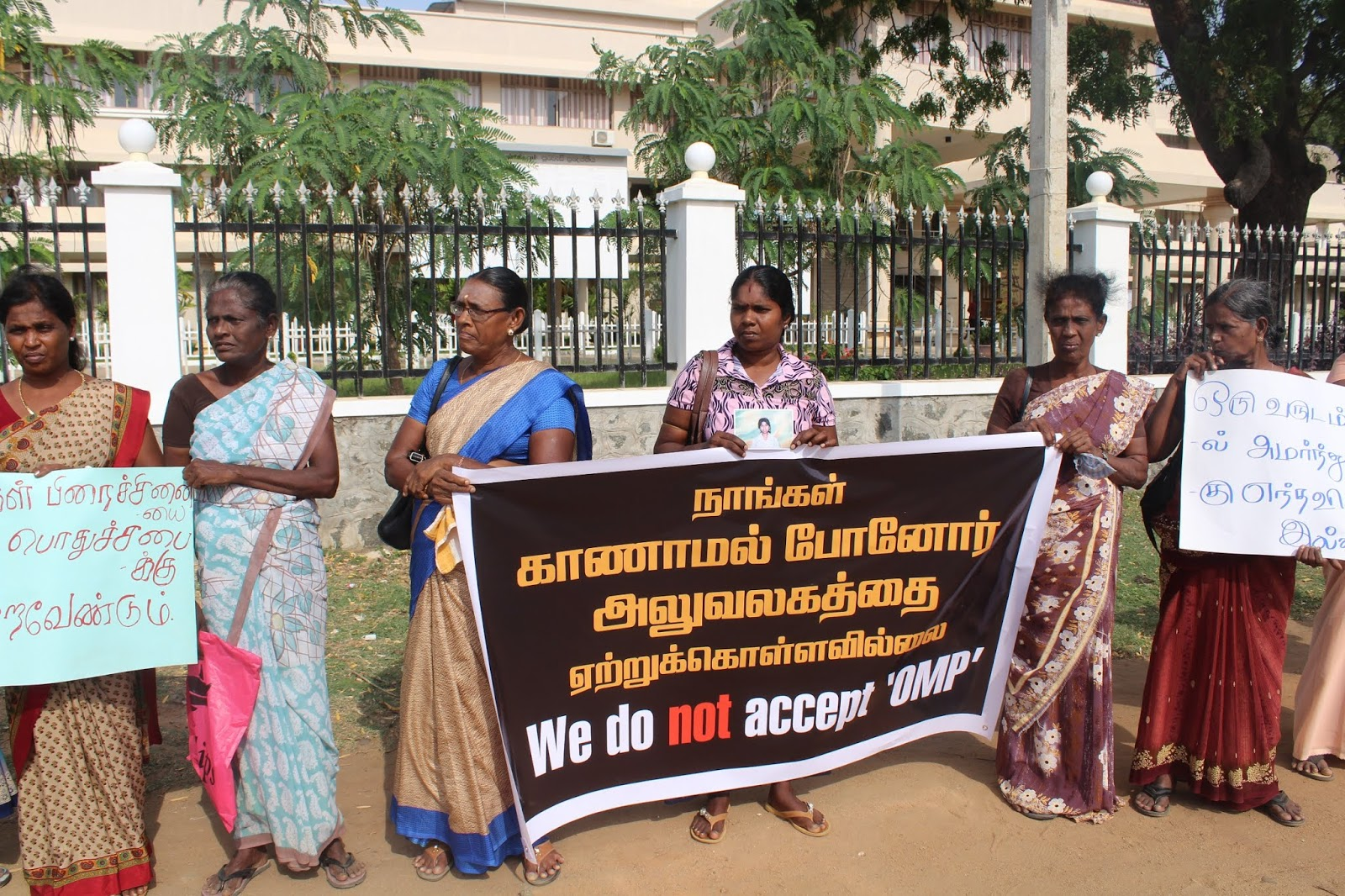 Relatives of Missing meet Governor Ragavan and hand over memorandum for Geneva