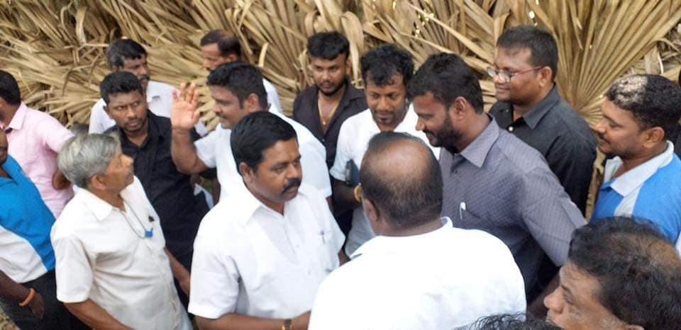 Sritharan MP apologizes for mistake in the Demonstration of the Relatives of the Missing persons