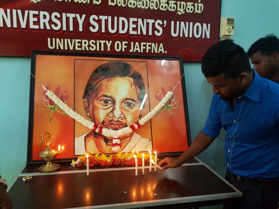 """Annai Bhoopathy"" commemoration in University of Jaffna"