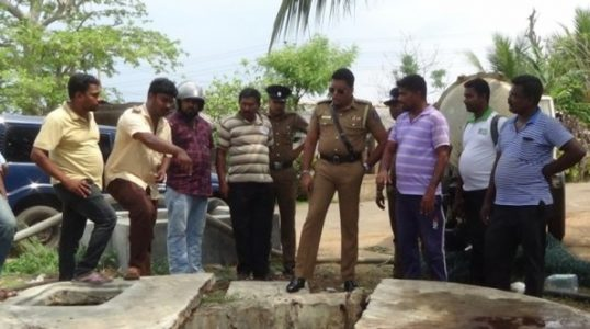 4 Sanitary workers of Vavuniya TC killed by Methane gas in waste pit of abattoir