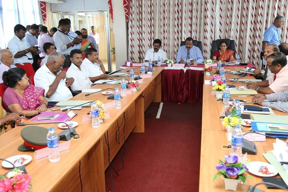 Kilinochchi DDC Meeting held after a long time