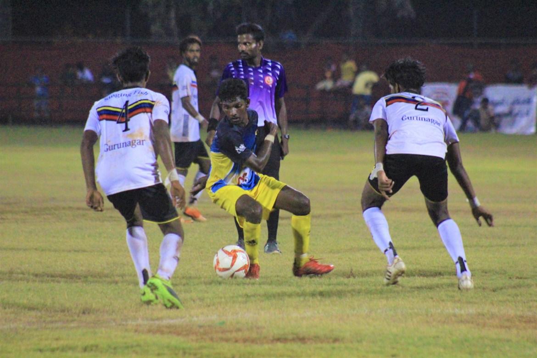 Kurunagar Singing Fish beat Navanthurai St. Mary's to crown as Champions of the Yarl League's 75thAnniversary Tournament