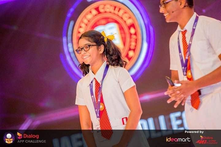 Jaffna College student Parameswaran Praveenan wins the National Level Dialog App Challenge 2018
