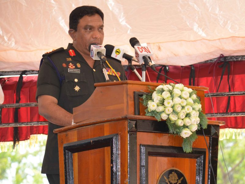 Security is assured – People of Jaffna need not be afraid , says the Commander SF- Jaffna