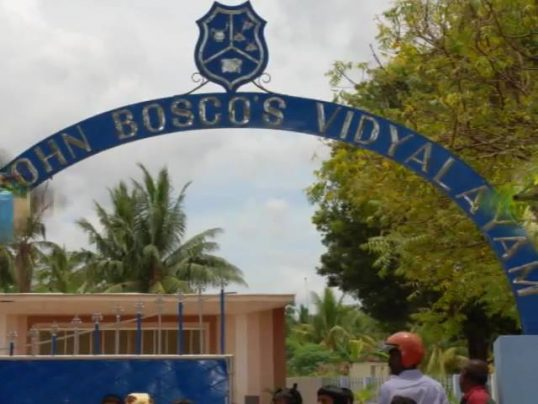 Person with covered face near the Church closer to St. Bosco– Jaffna police launch inquiries