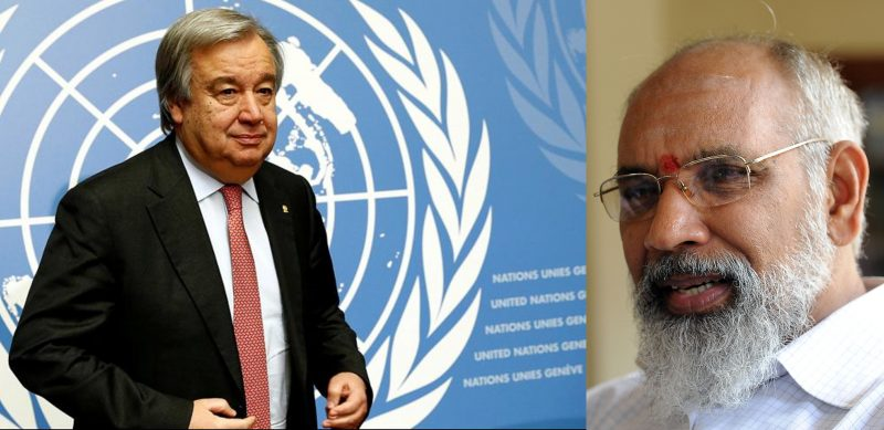 Sinhala Colonisation,  Buddhistisation in North & East with Army collaboration,  Wigneswaran  to UN Secretary
