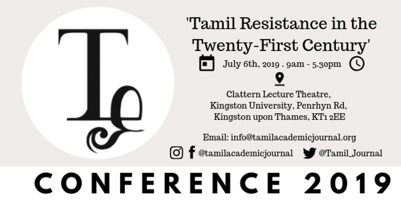 The Tamil Academic Journal Presents Their First Tamil Academic Conference