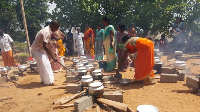 "Join the Tamils in celebrating ""Pongal"" to Neeraviyadi Pillaiyar Temple, Governor advises Bhikku"