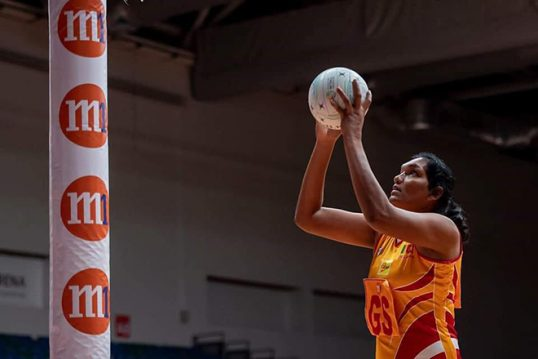 Sri Lanka wins consolation round match aided by the Record of Jaffna's Tharjini Sivalingam