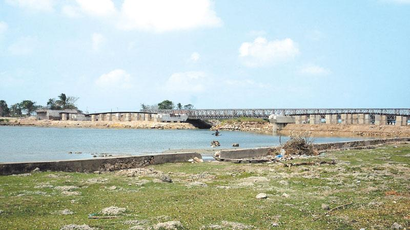 "Action taken to commence the "" Vadamaradchchi  Lagoon "" Fresh water project"