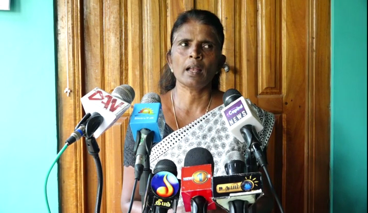 No confidence motion of JVP – Tamil politicians should oppose Government –  Relatives of Missing