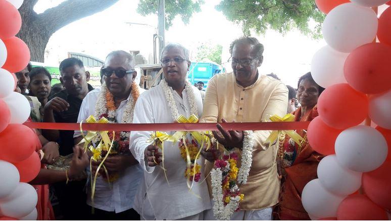 """ Ali Kumaran Kumar Anandan"" Memorial Swimming Pool declared open by Minister Mangala Samaraweera"