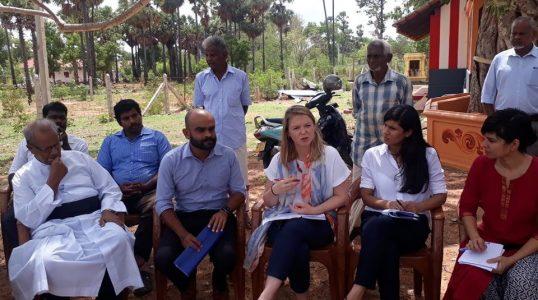 British Representatives meet Resettle people in Valikamam North