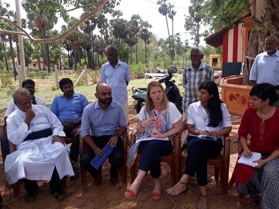 British Representatives meet Resettle people in Valikamam North
