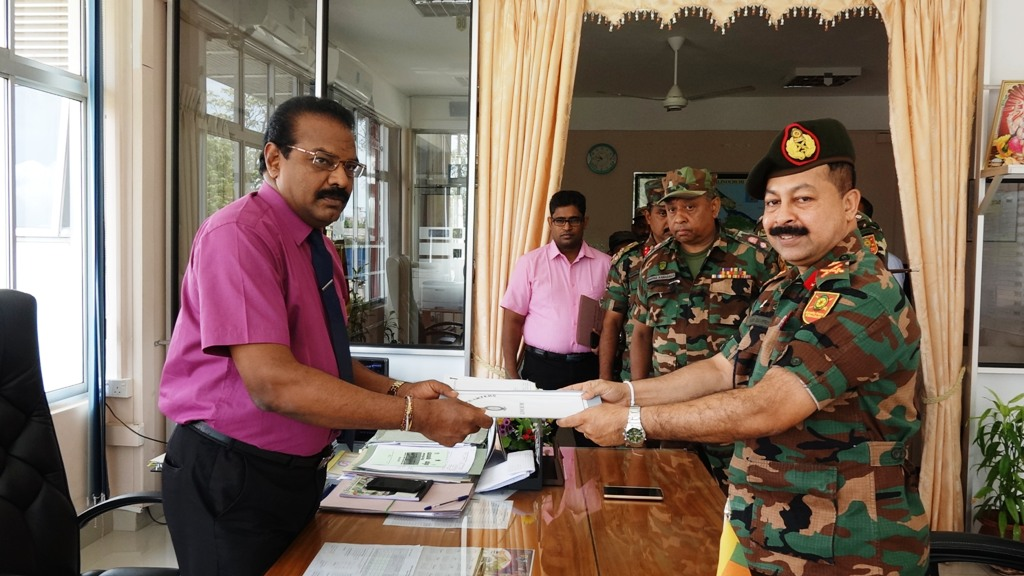 23 acre lands under control of the Army released in Kilinochchi