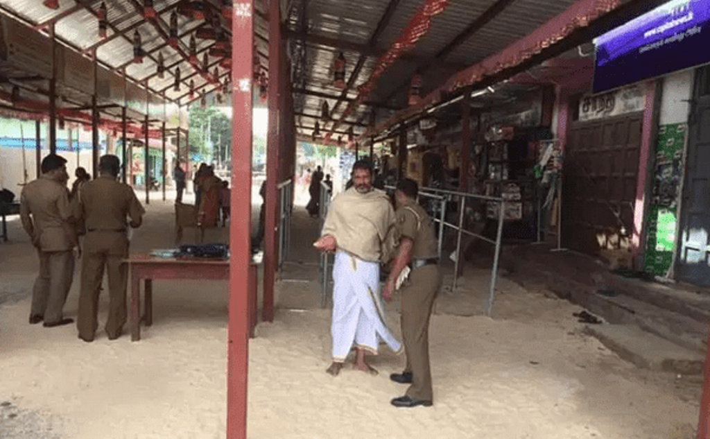 It is not fair to check devotees coming to Nallur Temple, Tamil People's Council expresses concern