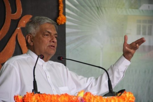 Only 900 acre to be released in Jaffna, Ranil declares in presence of TNA MPs, in Jaffna